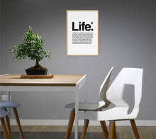 Load image into Gallery viewer, Life Poster - Hidden Prints