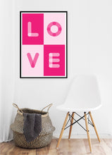 Load image into Gallery viewer, Love Blocks Poster