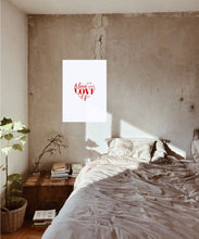 Load image into Gallery viewer, Love Heart Poster - Hidden Prints