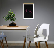 Load image into Gallery viewer, Love Light Poster - Hidden Prints