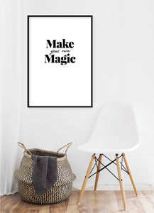 Make Your Own Magic Poster - Hidden Prints