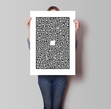 Load image into Gallery viewer, Maze Poster