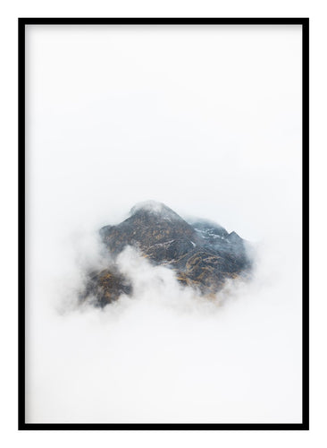 Misty Mountain Poster Hidden Prints