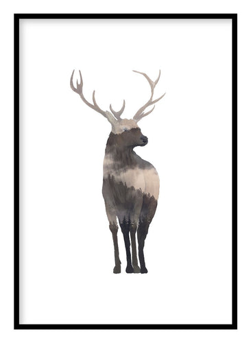 Monarch of the Glen Poster - Hidden Prints