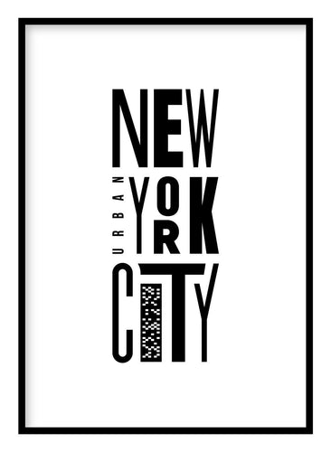 New York Poster Hidden Prints