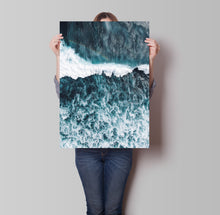 Load image into Gallery viewer, Ocean Wave Poster - Hidden Prints