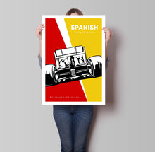 Load image into Gallery viewer, Spanish Grand Prix Poster -