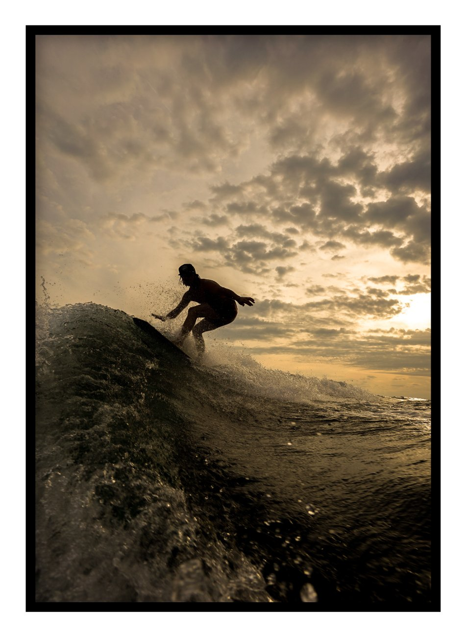 Surfer Poster - Hidden Prints