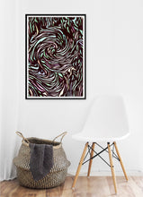 Load image into Gallery viewer, Swirls Poster - Hidden Prints