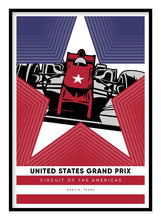 Load image into Gallery viewer, United States Grand Prix Poster