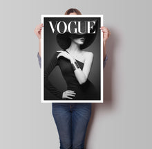 Load image into Gallery viewer, Vogue Model Poster