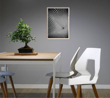 Load image into Gallery viewer, Waves 3D Illusion Poster