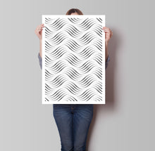 Load image into Gallery viewer, Wavy Dots Poster