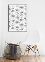 Load image into Gallery viewer, Wavy Dots Poster - Hidden Prints
