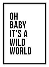 Load image into Gallery viewer, Wild World Poster - Hidden Prints