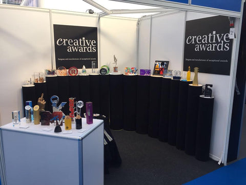 Confex 2018 stand by Creative Awards