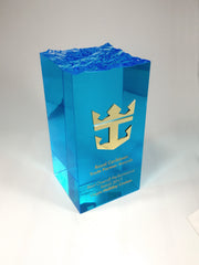 Blue wave award by Creative Awards