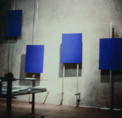 Yves Klein Exhibition Gallery Apollinaire