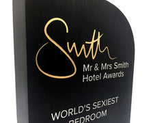 Mr and Mrs Smith Awards 2019 close up