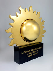 gold sunburst award