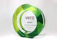 Green Acrylic Award