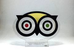 Trip Advisor bespoke awards Creative Awards