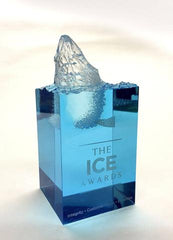 acrylic block award