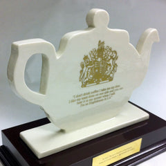 Custom made teapot award