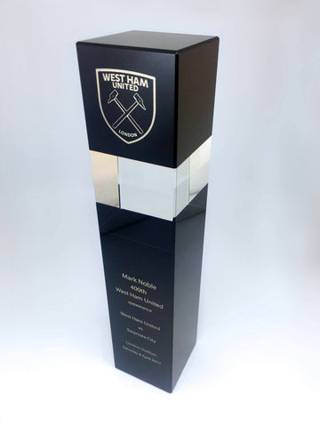 The Mark Noble Award Bespoke Mixed Media Awards Creative Awards