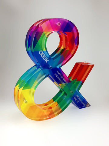 Acrylic Ampersand Award Creative Awards
