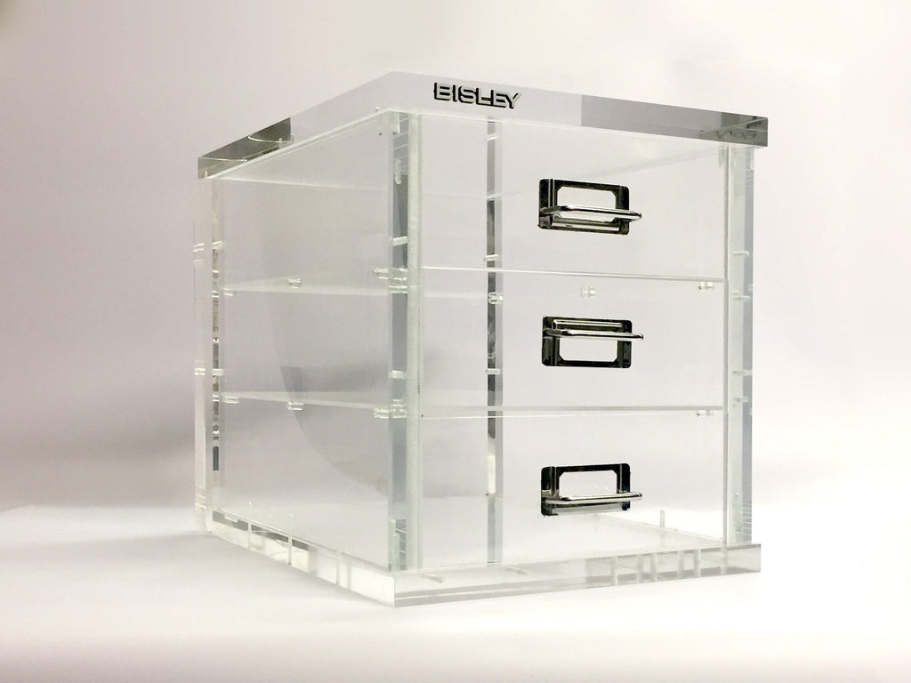 Custom made clear filling cabinet Creative Awards