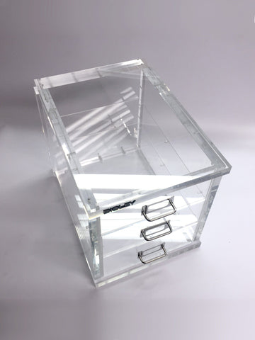 Top view clear acrylic filling cabinet Creative Awards