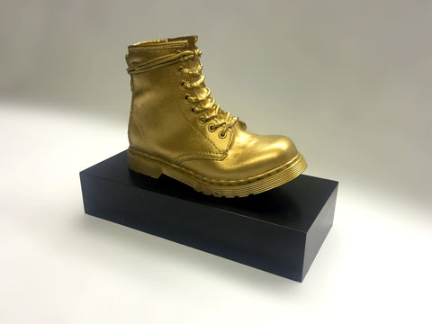 Custom resin boot award by Creative Awards
