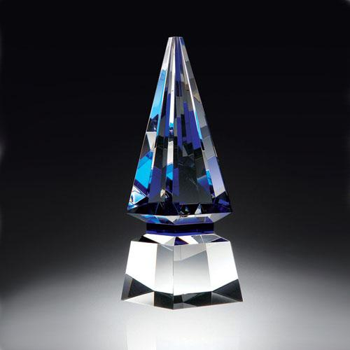 Elite Blue Spire Glass Awards Creative Awards
