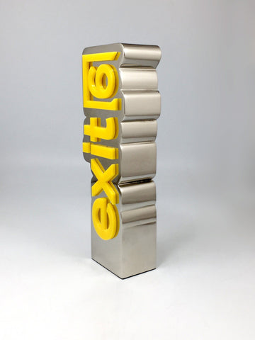 Exit6 Metal and Acrylic award