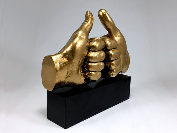 Gold Fist Bump Awards Bespoke Resin Awards Creative Awards