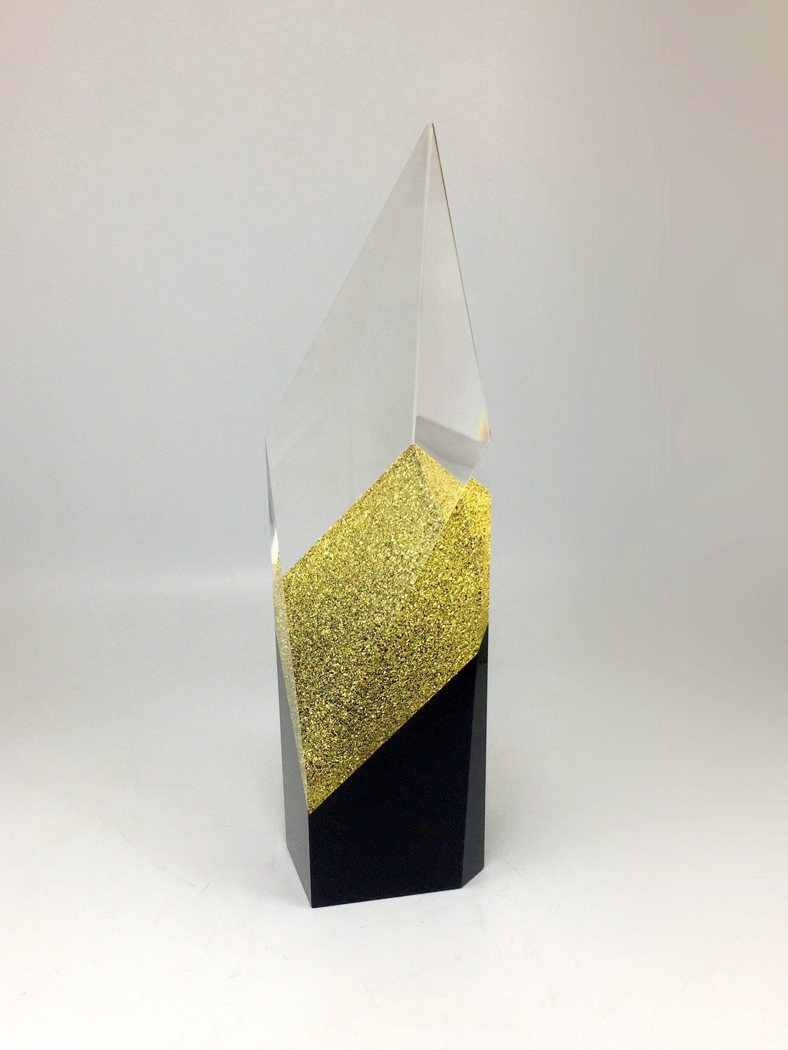 Glass Glitter Award Glass Awards Creative Awards