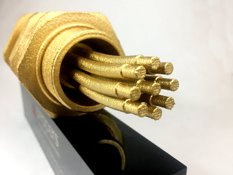Gold 3D-Printed Cable Gland Award Creative Awards