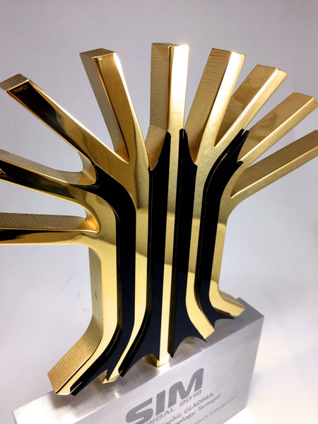 Gold Tree Award Bespoke Mixed Media Awards Creative Awards