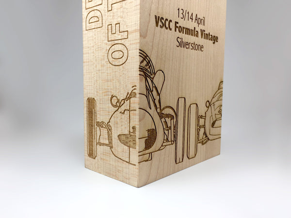 Grand Prix Lasered Maple Award Bespoke Wooden Awards Creative Awards
