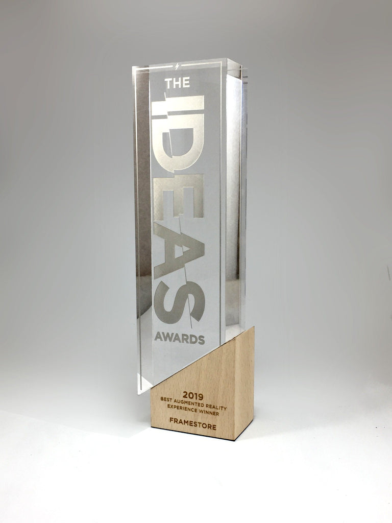 IDEAS Acrylic, Metal and Wood Award Bespoke Mixed Media Awards Creative Awards
