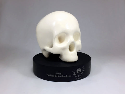 Skull Awards Bespoke Mixed Media Awards Creative Awards
