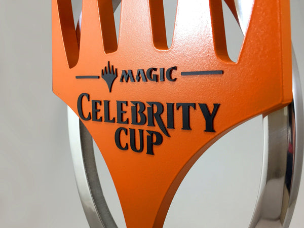 Magic the Gathering Celebrity Cup Award Bespoke Metal Award Creative Awards
