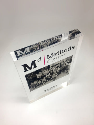 Methods Acrylic Block Bespoke Acrylic Awards Creative Awards