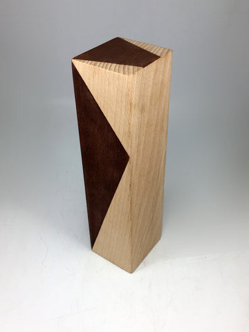 Philips Angled Wood and Shield Award Bespoke Wooden Awards Creative Awards