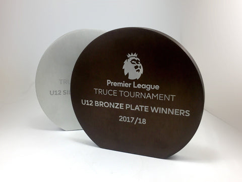 Close up premier league discs