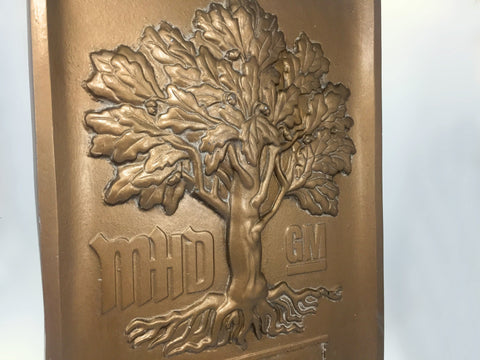 Custom made wall plaque close up Creative Awards
