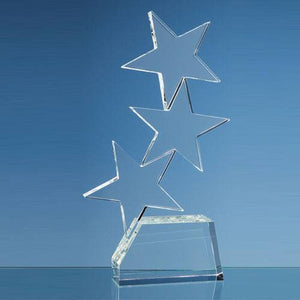 Triple Rising Star Award Glass Awards Creative Awards