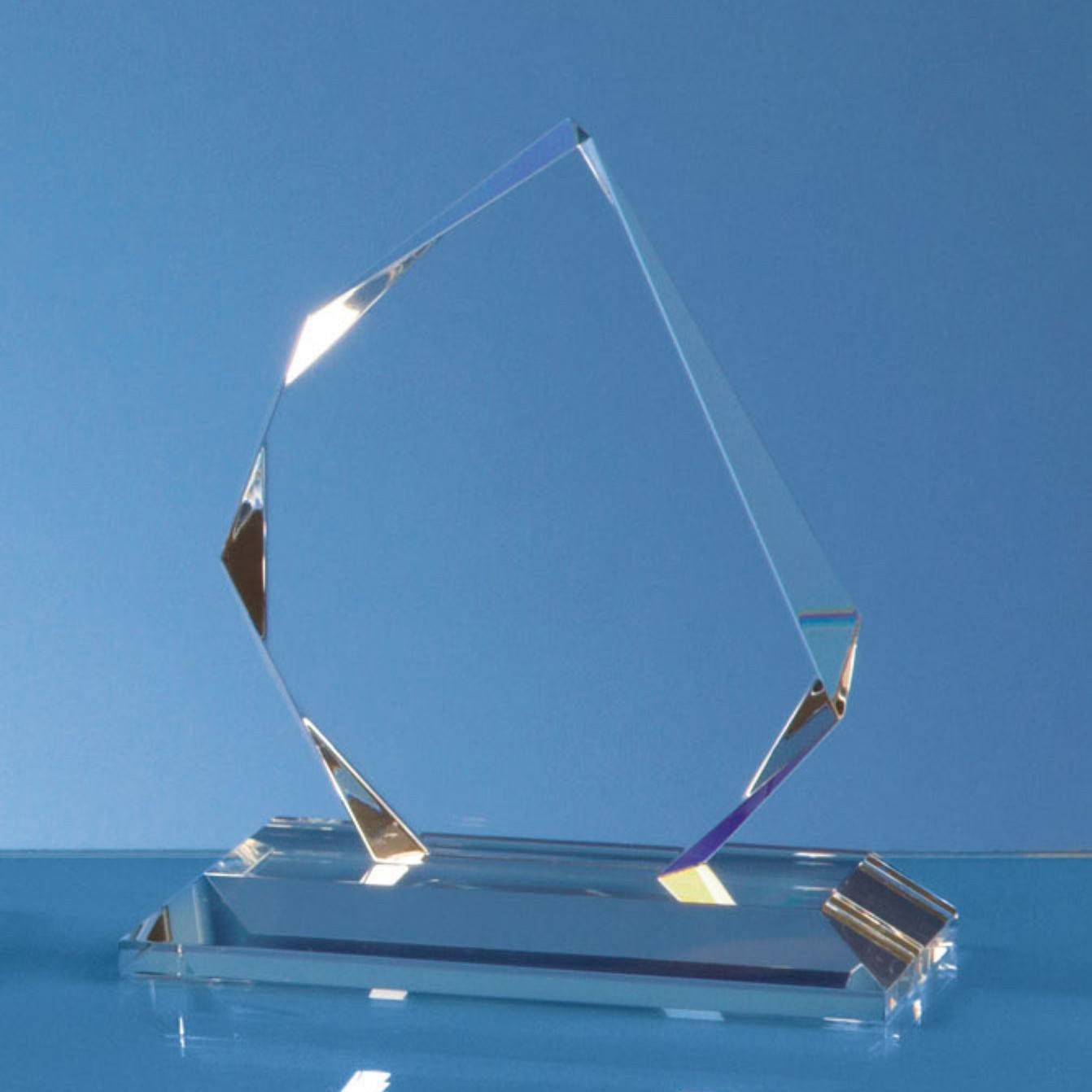 Faceted Ice Peak Award Glass Awards Creative Awards