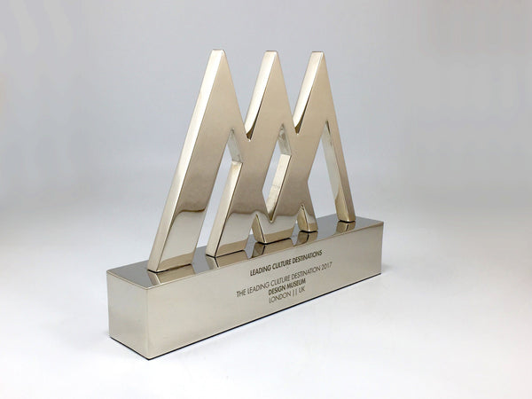 Triple Pyramid Aluminium Award Bespoke Metal Award Creative Awards